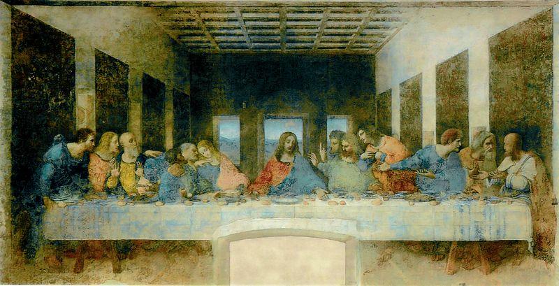 Nattvarden - Leonaro da Vinci