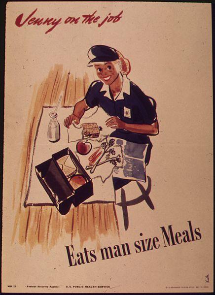 Riktiga kvinnor äter manliga portioner, eller?