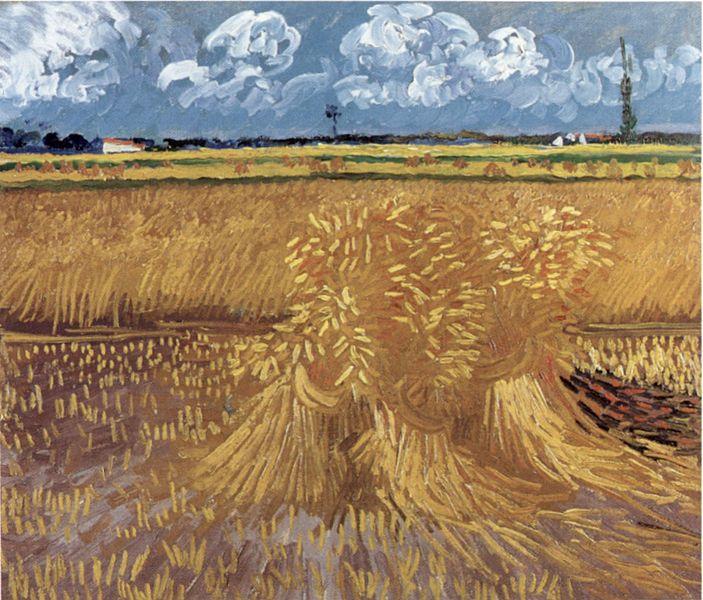 Vetefält - Vincent van Gogh