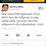 Vad forskare inte bör twittra