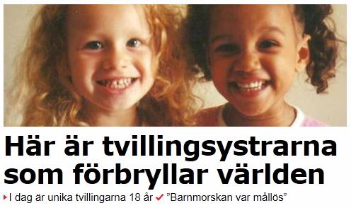 Tvillingsystrar